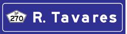 Placa Rodovia Raposo Tavares
